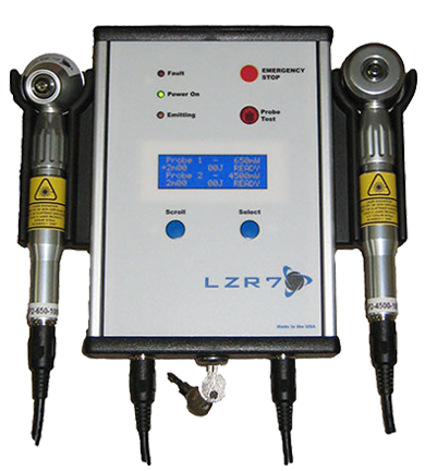 LZR7™ Class IV Low Level Laser Controller (with example probes)