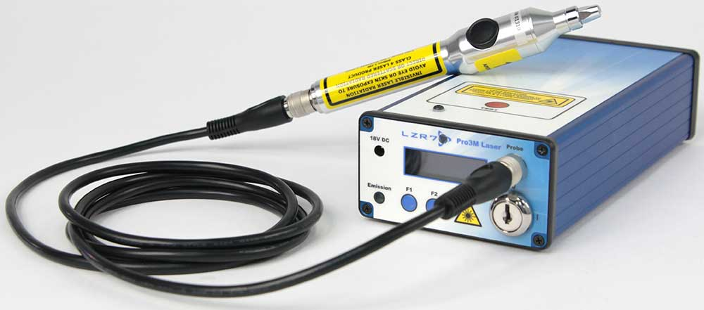 LZR7™ Pro 3M Laser Controller System with 1.5W Acu Tip Probe